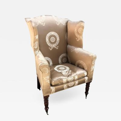 Baltimore Wing Back Chair circa 1810