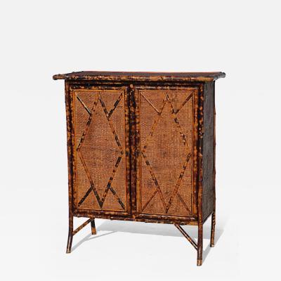 Bamboo Double Door Cabinet
