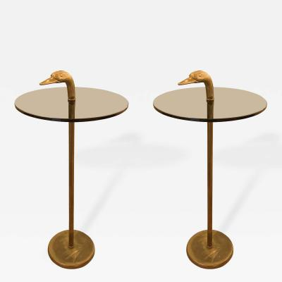 Banci Pair of Duck Themed Side Tables by Banci