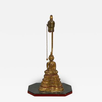 Bangkok Thai Buddha Lamp Thailand Circa 1850