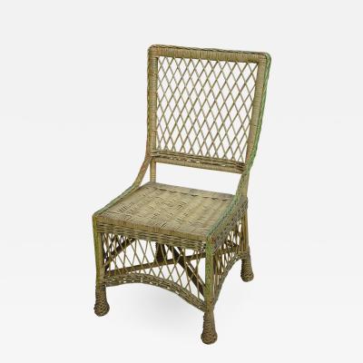 Bar Harbor Wicker Side Chair