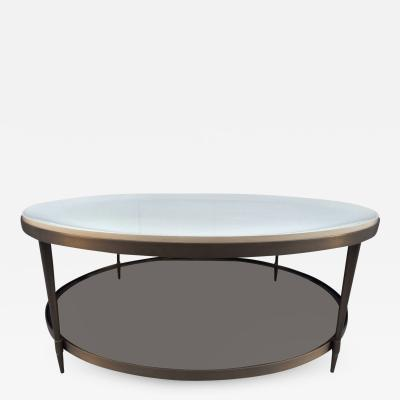 Barbara Barry Brass Coffee Table by Barbara Barry for Baker