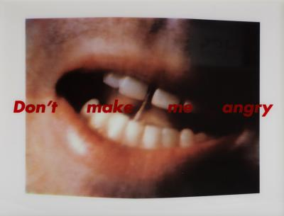 Barbara Kruger Dont Make Me Angry