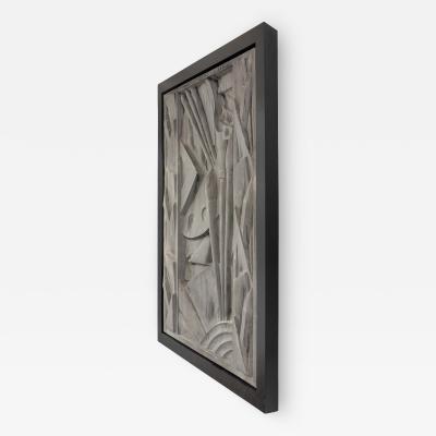 Barbizon Plaza Hotel Cast Aluminum Frieze Panel New York 1930
