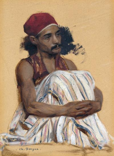 CHARLES BARGUE Study of an Arnaut