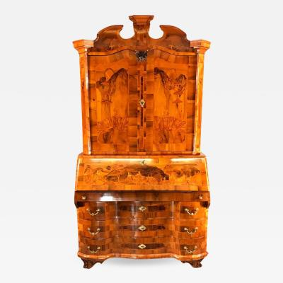 Baroque Cabinet with Secretaire Germany 1750 60