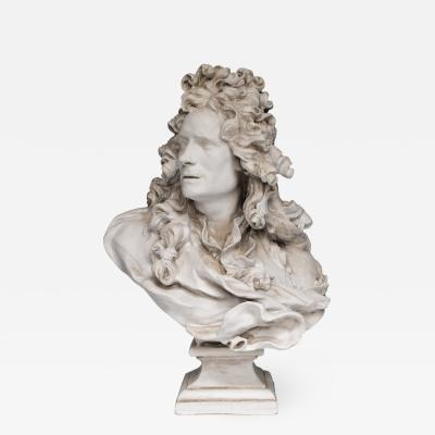 Baroque Plaster Bust