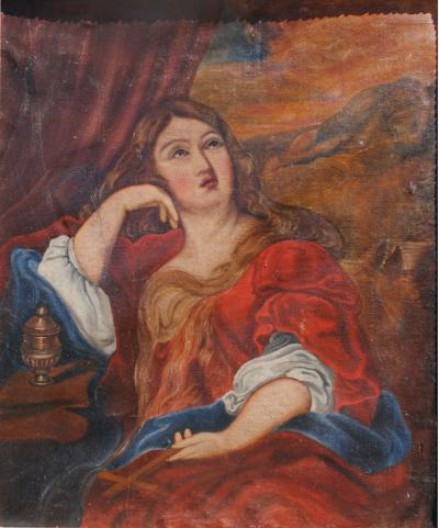 Baroque Portrait Mary Magdalene