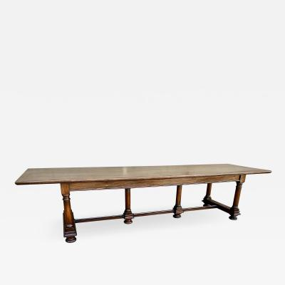 Baroque Style Refectory Table 20th Century