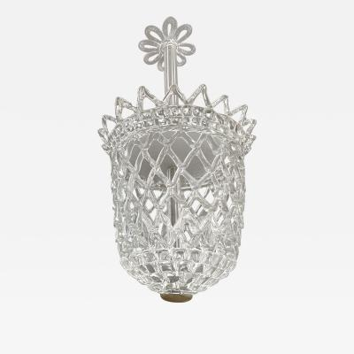 Barovier and Toso Glass Pendant Chandelier