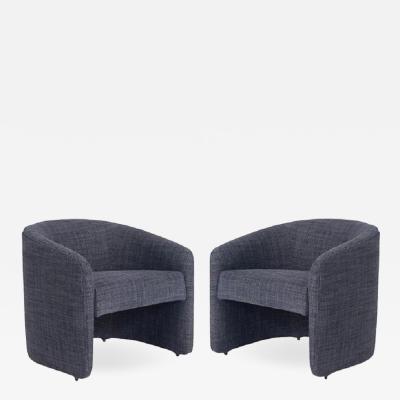Barrel Back Lounge Chairs 1970