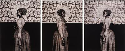 Barron Claiborne Barron Claiborne Old Orleans Before The Deluge Triptych 2 USA c 2005