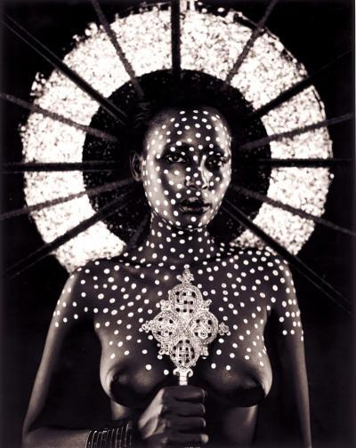 Barron Claiborne Barron Claiborne Spotted Virgin of Kiambu Njuhi USA c 2005
