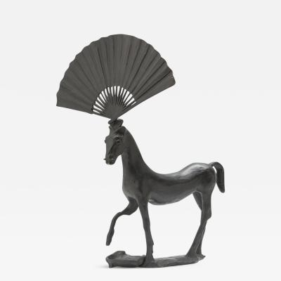 Barry Flanagan Horse with Fan