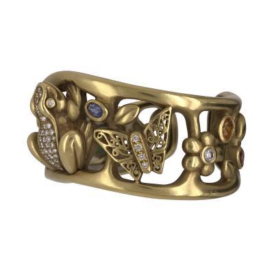 Barry Kiselstein Cord Kiselstein Cord frog prince bracelet