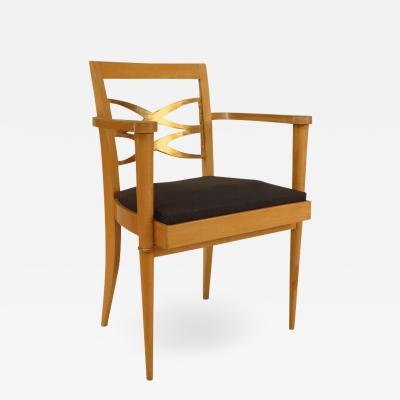 Batistin Spade French Sycamore Arm Chair