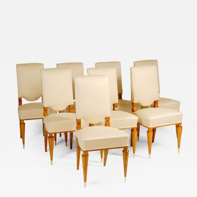 Batistin Spade Set of Eight Dining Chairs by Batastin Spade