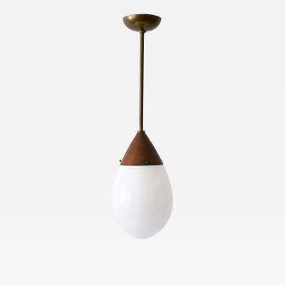 Bauhaus Pendant Lamp or Hanging Light Drop by Siemens 1920s Germany