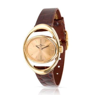 Baume Mercier Vintage 36642 9 Ladies Watch in 18K Yellow Gold