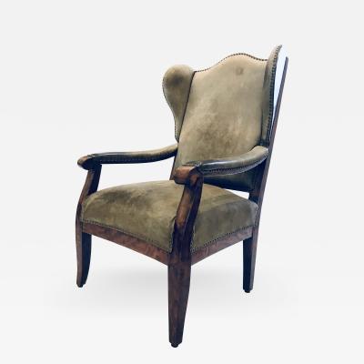 Bavarian Wingback Chair