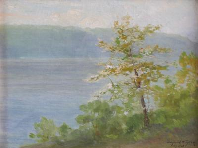 Bayard Henry Tyler Palisades on Hudson Spring 1918