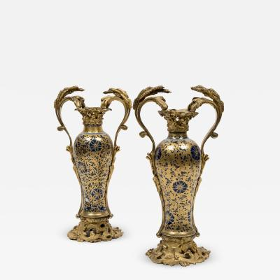 Bayeux Pair of Vases