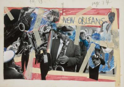 Romare H Bearden New Orleans