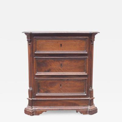 Beautiful Late 17th Century Umbrian Three Drawer Chest