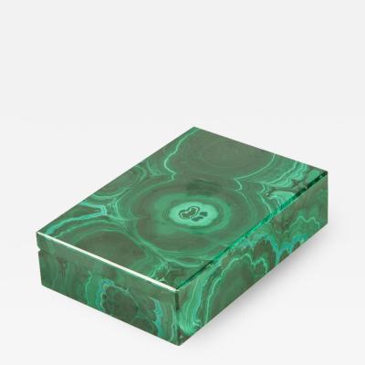 Beautiful Malachite Box