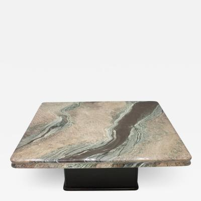 Beautiful Marble Coffee Table Italy 1970s