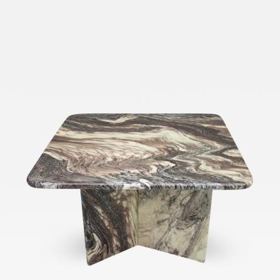 Beautiful Marble Side Table Italy 1970s