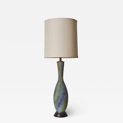 Beautiful Porcelain Lamp by Marbro Lamp Company