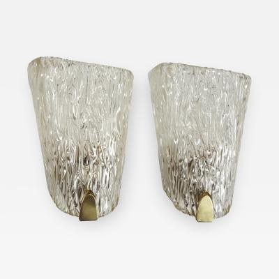 Belgian Crystal Sconces