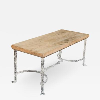 Belgian Wrought Iron Coffee Table