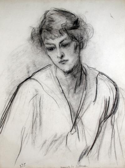 COUNT ALBERT DE BELLEROCHE Young Woman in Thought
