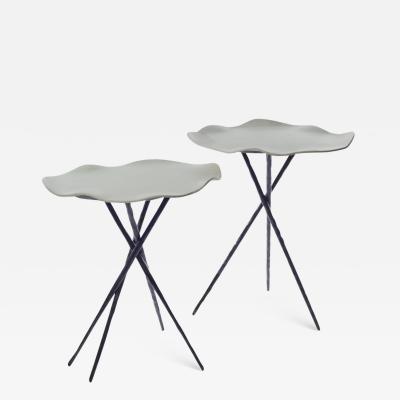 Belles de Nuit Pedestal tables Isabelle Azema