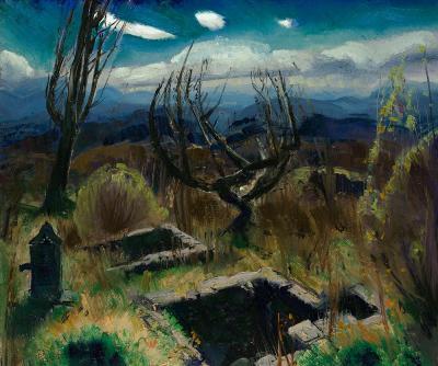 George Bellows Deserted Farm No II