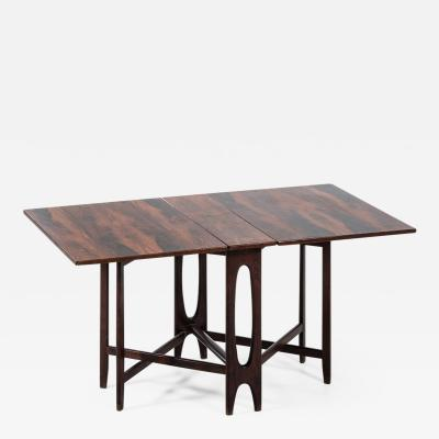 Bendt Winge Bent Winge Rosewood Dining Table