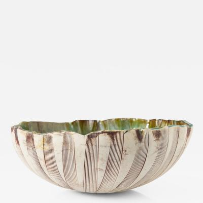 Bengt Erik Berglund Scandinavian Large Bowl by Bengt Berglund for Gustavsberg Studio