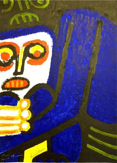 Bengt Lindstrom Bengt Lindstrom Original Handsigned Engraving 1976