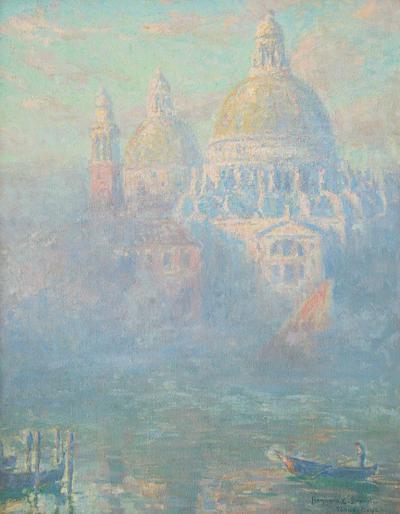 Benjamin Brown Dreamy Venice c 1927