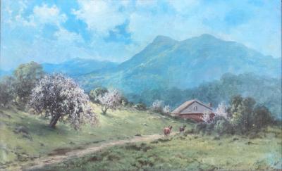 Benjamin Willard Sears Springtime on Mount Tamalpais Marin County California