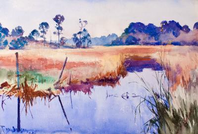 Frank Weston Benson Deer River Alabama