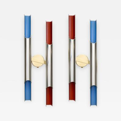 Bent Karlby Pair of BENT KARLBY PAN OPTICON SCONCES FOR LYFA