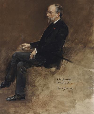 JEAN B RAUD Portrait of Hippolyte Taine