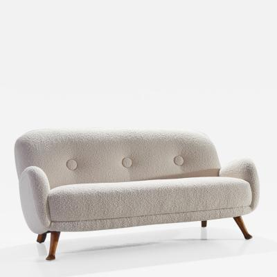 Berga M bler Sofa by Berga M bler Sweden 1940s