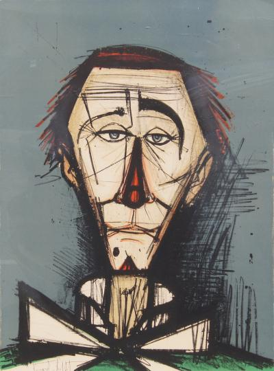 Bernard Buffet Bernard Buffet Color Lithograph Clown Head 32 120