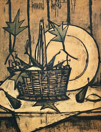 Bernard Buffet Bernard Buffet Fruit Basket 1957