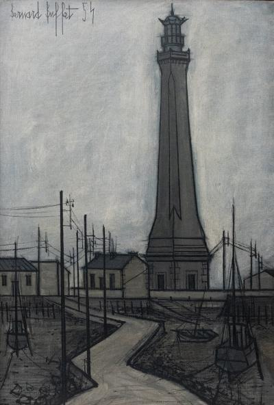 Bernard Buffet Le Phare by Bernard Buffet