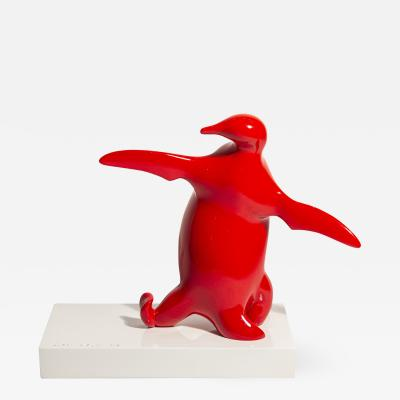 Bernard Conforti Bernard Conforti Penguin Sculpture Resin Signed circa 2010